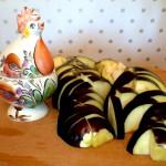 Баклажан для салата экзотика с баклажаном и антоновкой