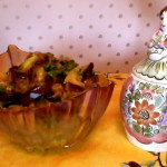 Салат из баклажанов и антоновки